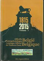 POSTZEGELCATALOGUS  BELGIE 2015 - VOLUME 1 & 2 - België
