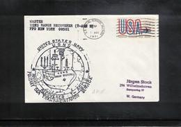 USA 1971 Space / Raumfahrt Apollo 15 USNS Recovery Force Interesting Cover - Briefe U. Dokumente