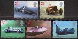 GREAT BRITAIN 1998 British Land Speed Record Holders - Neufs