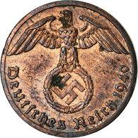 Monnaie, Allemagne, IIIème Reich, Reichspfennig, 1940, Stuttgart, TB+, Bronze - [ 4] 1933-1945 : Troisième Reich
