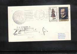 Spain 1971 Space / Raumfahrt Apollo 15 Tracking Station Canary Islands Interesting Cover - Briefe U. Dokumente