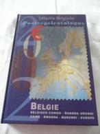 POSTZEGELCATALOGUS  BELGIE 2002 - NIEUW MET ZWART-WIT VELLETJE - POSTAGENDA 2001 + ZWART-WIT VELLETJE - België