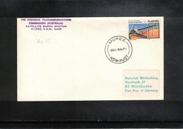 Australia 1971 Space / Raumfahrt Apollo 15 Tracking Station Moree NSW Interesting Cover - Briefe U. Dokumente