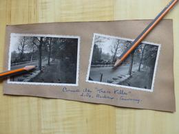 59 LILLE CIRCUIT DES 3 VILLES ROUBAIX TOURCOING - COURSE AUTOMOBILE - 2 PHOTOGRAPHIES - Automobiles
