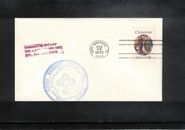 USA 1972 Space / Raumfahrt Apollo 17 Recovery Force Atlantic Interesting Cover - Briefe U. Dokumente
