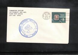 USA 1972 Space / Raumfahrt Apollo 17 Recovery Force Atlantic  USS Fidelity Interesting Cover - Briefe U. Dokumente