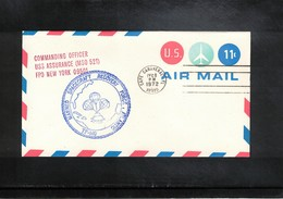 USA 1972 Space / Raumfahrt Apollo 17 Recovery Force Atlantic  USS Assurance Interesting Cover - United States