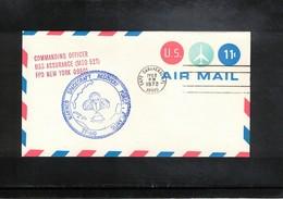 USA 1972 Space / Raumfahrt Apollo 17 Recovery Force Atlantic  USS Assurance Interesting Cover - Briefe U. Dokumente