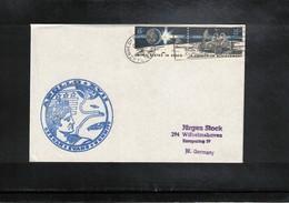 USA 1972 Space / Raumfahrt Apollo 17 Interesting Cover - Briefe U. Dokumente