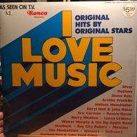 LP Estadounidense De Artistas Varios I Love Music Año 1976 - Compilations
