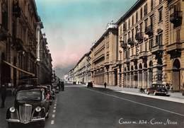"""1068""""CUNEO -VIA NIZZA  """"ANIMATA AUTO  ANNI 40  CARTOL ORIGINALE - Cuneo"""