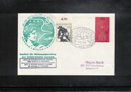 Germany 1972 Space / Raumfahrt Apollo 17 Tracking Station Bochum Interesting Cover - Briefe U. Dokumente