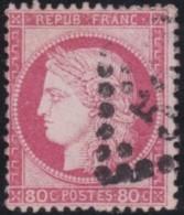France       .    Yvert    .    57          .         O      .      Oblitéré - 1871-1875 Ceres