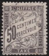 France        .    Yvert    .    Taxe  20  (2 Scans)      .         O      .      Oblitéré - 1960-.... Oblitérés