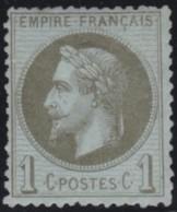 France    .    Yvert    .   25   (2 Scans)     .   *     .    Neuf Avec Gomme  .   /  .  Mint-hinged - 1863-1870 Napoleon III Gelauwerd