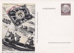 Drapeau Bateau Mit Unseren Fahnen Ist Der Sieg - Weltkrieg 1939-45