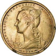 Monnaie, Côte Française Des Somalis, 2 Francs, 1948, Paris, ESSAI, SPL - Djibouti