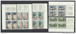 DZS05272 Algérie Algeria 1962 Definitive Issue - Complete Set 5 Control Block / MNH - Argelia (1962-...)