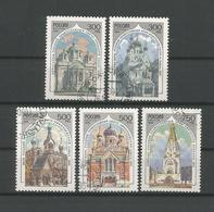 Russia 1995 Churches Y.T. 6136/6140 (0) - 1992-.... Fédération