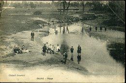 GAJAC  GIRONDE Plage Enfant Rivière Cours D'eau - Otros Municipios