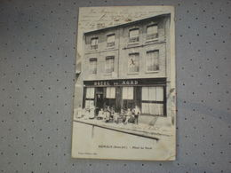 AUMALE - HOTEL DU NORD 1908 - Aumale