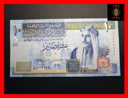 JORDAN 10 Dinars 2012  P. 36 D   UNC - Jordania