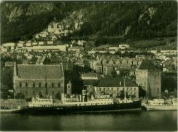 NORWAY / NORGE - BERGEN - HAKONSHALLEN OG WALKENDORFS TARN - EDIT MITTET / CO. -  1950s (BG7875) - Noruega