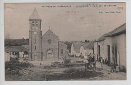 CBPN116/ CP Environs De Florenville - La Cuisine - La Place De L'Eglise Animée Cheval Maréchal Ferrant - Florenville