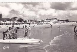 85,VENDEE,LA TRANCHE SUR MER,CARTE PHOTO ARTAUD,HOTEL,PLAGE,PEDALO - La Tranche Sur Mer