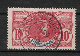 Haut-Senegal Et Niger - Upper Senegal And Niger - Yvert 5 Oblitéré BAMAKO - Scott#5 - Haut-Sénégal Et Niger (1904-1921)