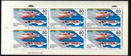 Germany Berlin 1986 / Swimming / Sport Help, Olympic Sporthilfe / Markenheftchen, Booklet, Carnet MNH - Natación