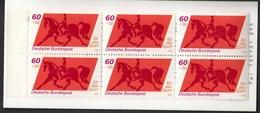 Germany 1980 / Equestrian, Horse, Dressage / Sport Help, Olympic Sporthilfe / Markenheftchen, Booklet, Carnet MNH - Halterofilia