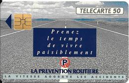 CARTE-PUCE-PRIVEE-PUBLIC- 50U-EN 518-SO3-12/92-PREVENTION ROUTIERE-R°Mat-Utilisé-TBE-LUXE - 50 Unités