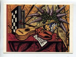 Bernard BUFFET Mandoline Violon - Otros Ilustradores