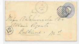 Letter Newfoundland Enveloppe - 1865-1902