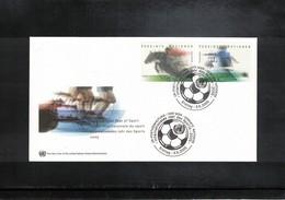 UNO Wien 2005 International Year Of Sports FDC - Reitsport