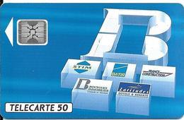 CARTE-PUCE-PRIVEE-PUBLIC- 50U-EN545a-SC4-12/92-BOUYGUES-V°Imp 44386-Utilisé-TBE-LUXE - 50 Unités
