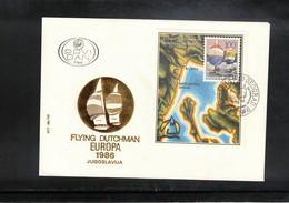 Yugoslavia 1986 Sailing Flying Dutchman European Championship FDC - Segeln