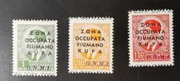 OCCUPAZIONE FIUMANA-KUPA 1941 - Fiume & Kupa