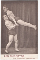 SPORT. GYMNASTIQUE. LES RUBERTOZ. LES SUPERBES ACROBATES. - Gymnastique