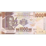 TWN - GUINEA 48a - 1000 1.000 Francs 2015 Prefix BH UNC - Guinea