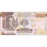TWN - GUINEA 48b - 1000 1.000 Francs 2017 Prefix CQ UNC - Guinea