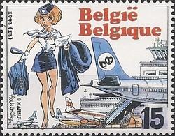 BELGIUM - YOUTH PHILATELY, AIR HOSTESS NATASCHA 1993 - MNH - Filatelia & Monete
