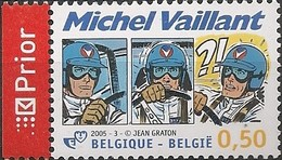BELGIUM - YOUTH PHILATELY, MICHEL VAILLANT 2005 - MNH - Filatelia & Monete