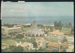 °°° 18901 - MOZAMBICO MOZAMBIQUE - MAPUTO - IGREJA DE SANTO ANTONIO DA POLANA - 1982 With Stamps °°° - Mozambico