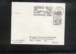 France 1966 Pentecote Junior Football Tournament Interesting Postmark - Fussball