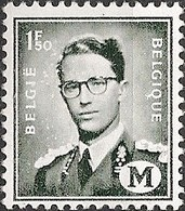 BELGIUM - DEFINITIVES: MILITARY STAMP, KING BAUDOUIN (1.5Fr) 1967 - MNH - Filatelia & Monete