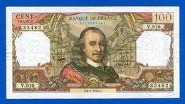 100 Fr  Du 2/1 /1976 - 100 F 1964-1979 ''Corneille''