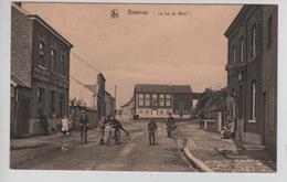 """CBPN126/ CP Biesmes (Mettet) """" La Rue Du Mont """" Animée Vélos - Mettet"""
