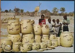 °°° 18904 - SWA NAMIBIA - OVAMBO FLECHTARBEIT °°° - Namibia